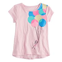 Girls 4-10 Jumping Beans® Hi Low Graphic Tee