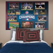 Chicago Cubs Game 7 Moments Mural