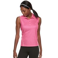 Women's FILA SPORT® Sleeveless Printed Golf Polo