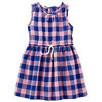 Toddler Girl Carter's Gingham Dress