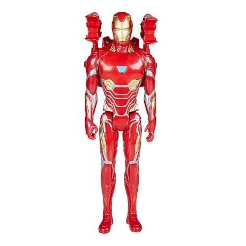 "MARVEL Avengers Infinity War TITAN HERO Power FX 12/"" IRON MAN Figure NUOVO"