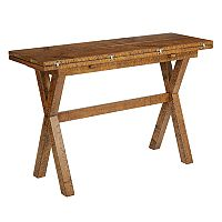 OSP Designs McKayla Flip-Top Farmhouse Dining Table