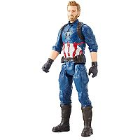 Marvel Avengers: Infinity War Titan Hero Series Captain America with Titan Hero Power FX Port by Hasbro