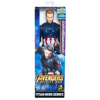 Marvel Avengers: Infinity War Titan Hero Series Captain America with Titan Hero Power FX Port by Hasbro