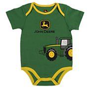 Baby Boy John Deere Tractor Bodysuit