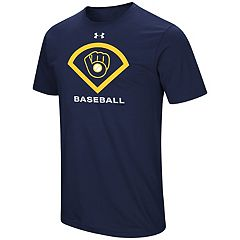 Men's Under Armour Milwaukee Brewers Icon Tee