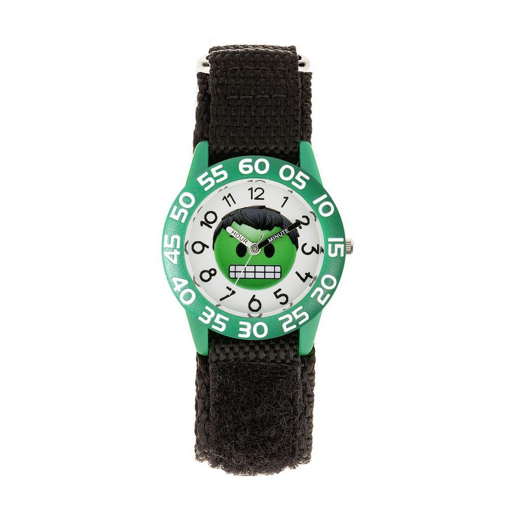 Marvel Hulk Emoji Kids' Time Teacher Watch