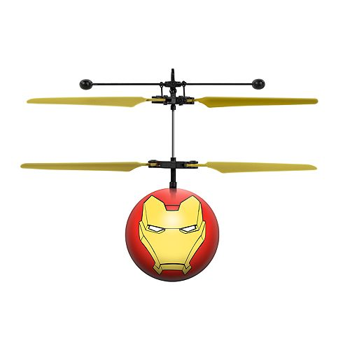 Marvel Avengers Iron Man UFO Ball Helicopter by World Tech Toys