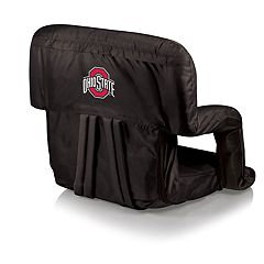 Picnic Time Ohio State Buckeyes Ventura Portable Recliner Chair