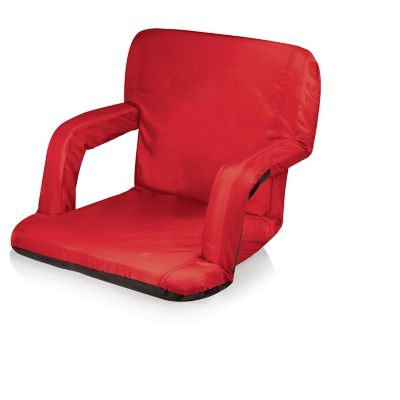 Picnic Time Wisconsin Badgers Ventura Portable Recliner Chair