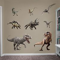 Jurassic World Dinosaurs Collection Wall Decals