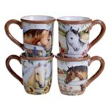 Certified International Heartland 4-pc. Mug Set