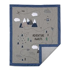 Lolli Living Peaks 'Adventure Awaits' Quilt