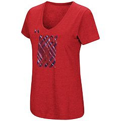 Women's Under Armour Los Angeles Angels of Anaheim Heat Gear Streak Tee