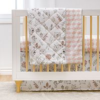 Lolli Living Woodlands 4 pc Crib Bedding Set