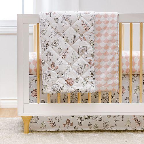 Lolli Living Woodlands 4-pc. Crib Bedding Set