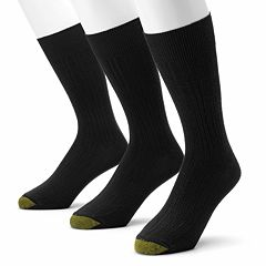 Men's GOLDTOE 3 pkMilan Dress Socks