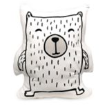 Lolli Living Woodlands Bear Decorative Pillow