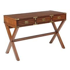 OSP Designs Wellington Suitcase Desk