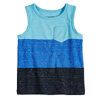 Baby Boy Jumping Beans® Colorblock Pocket Tank Top