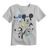 Disney's Mickey Mouse & Friends Baby Boy Slubbed Graphic Tee by Jumping Beans®