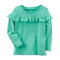 Girls 4-8 Carter's Ruffle Top