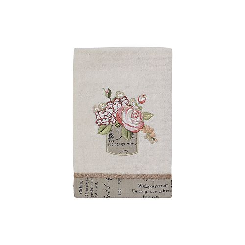 Avanti Antique Bouquet Hand Towel