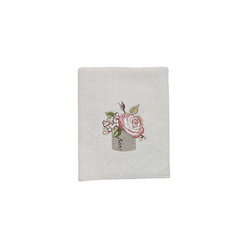 Avanti Antique Bouquet Washcloth