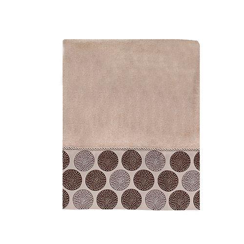 Avanti Dotted Circles Bath Towel