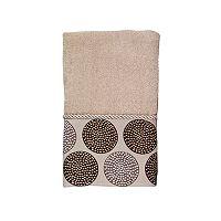 Avanti Dotted Circles Hand Towel