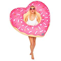 Big Mouth Inc. Heart Donut Pool Float
