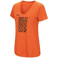 Women's Under Armour Baltimore Orioles Heat Gear Streak Tee