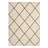 Nourison Brisbane Luxe Lattice Shag Rug