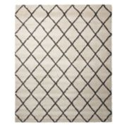 Nourison Brisbane Elusive Lattice Shag Rug