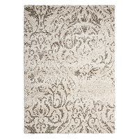 Nourison Brisbane Regal Damask Shag Rug