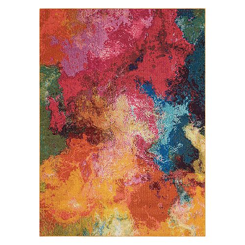 Nourison Celestial Palette Abstract Rug