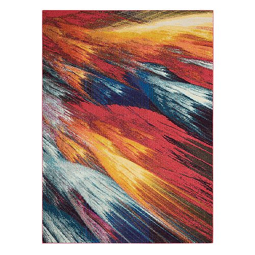 Nourison Celestial Burst Abstract Rug