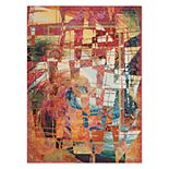 Nourison Celestial Stained Glass Abstract Rug