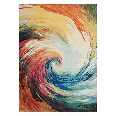 Nourison Celestial Wave Abstract Rug