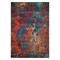 Nourison Celestial Atlantic Abstract Rug
