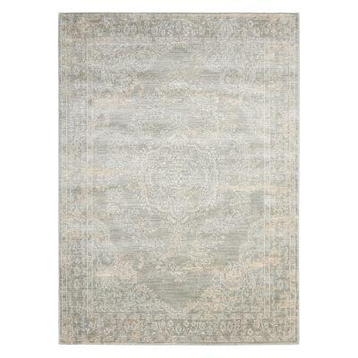Nourison Euphoria Modern Framed Floral Rug