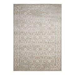 Nourison Euphoria Contemporary Framed Floral Rug