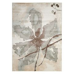 Nourison Euphoria Abstract Floral Rug