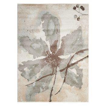 Nourison Euphoria Abstract Floral Rug