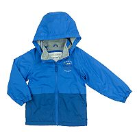 Toddler Boy Carter's Fleece-Lined Color-Blocked Transitional Lightweight Jacket