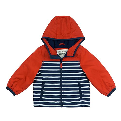 Toddler Boy Carter's Striped Nautical Lightweight Jacket