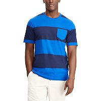 Men's Chaps Classic-Fit Rugby-Striped Tee
