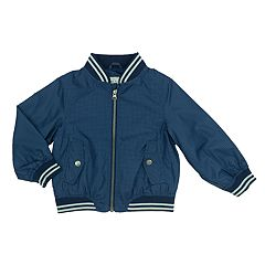 Toddler Boy Carter's Grid Pattern Lightweight Jacket