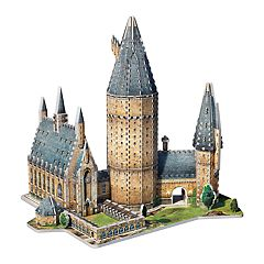 Wrebbit Harry Potter Hogwarts Great Hall 3D 850 pc Puzzle
