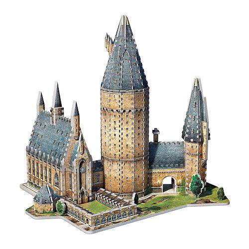 Wrebbit Harry Potter Hogwarts Great Hall 3D 850-pc. Puzzle